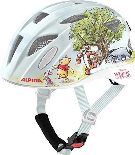 ALPINA XIMO Disney, caschi Unisex-Youth, Winnie Pooh Gloss, 45-49 cm