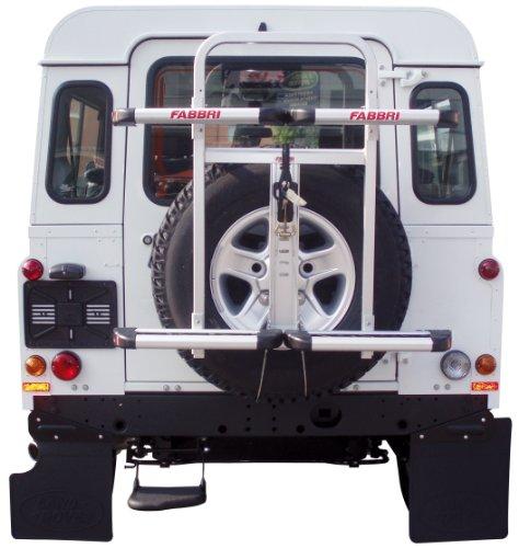 FABBRI Porte-ski et snowboard Gringo Sky et Board pour véhicules tout terrain avec roue de secours arrière