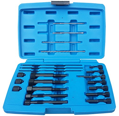 JBM 52815 Juego de extractores de punta de electrodo de calentadores, azul