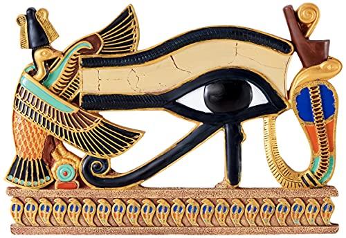 Figura Ojo de Horus - Símbolo de PROTECCIÓN - Decoración - Hogar