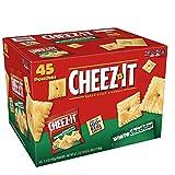 Sunshine 10892 Cheez-it Crackers, 1.5 oz Bag, White Cheddar, 45/Carton