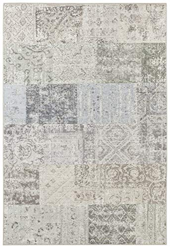 Elle Decor Flachgewebe Teppich Toulon Multicolor Creme, 200x290 cm