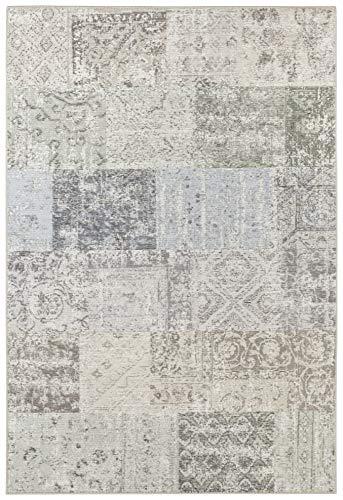 Elle Decor Flachgewebe Teppich Toulon Multicolor Creme, 120x170 cm