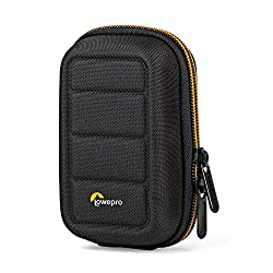 """Fits: small point-and-shoot cameras + accessories Dimensions (WDHP): exterior: 3.66 x 2.36 x 5.71"""" (9.30 x 5.99 x 14.50Cm)interior: 2.76 x 1.18 x 4.53"""" (7.01 x 3.00 x 11.51cm) Weight: 0.20 lbs. (0.09kg) International products have separate terms, are..."""