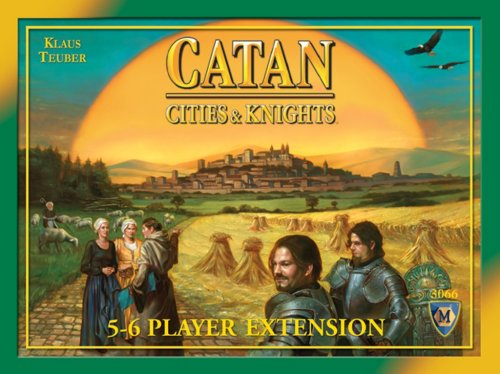 Mayfair Games Catan: Cities & Knights 5-6 Player Extension 4th Edition
