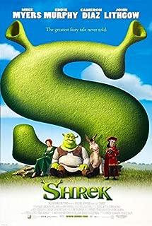 SHREK (2001) Original Authentic Movie Poster 27x40 - Dbl-Sided - Mike Myers - Eddie Murphy - Cameron Diaz - John Lithgow