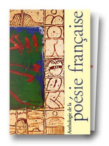 Anthologie de la poésie française, coffret de 2 volumes