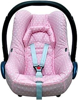 Blausberg Baby - Funda para Maxi Cosi cabriofix bebé en color rosa con estrellas