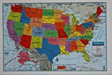 Teaching Tree United States Wall Map - 40' x 28'