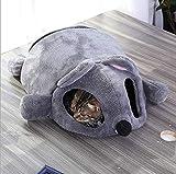 Gaobey - Cojín de cama para perros y gatos autocalentamiento (50 cm, rosa)