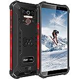 OUKITEL WP5 Pro SIMフリー スマートフォン Android 10.0 4GB RAM+64GB ROM スマホ本体 8000mAhバッテリー IP68&IP69K防水 防塵 耐衝撃性 アウトドアスマホ 本体 5.5インチ 13MP+5MPカメラ 防災携帯電話 1年間保証