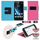 Hülle für Oukitel U7 Pro Tasche Cover Case Bumper | Pink