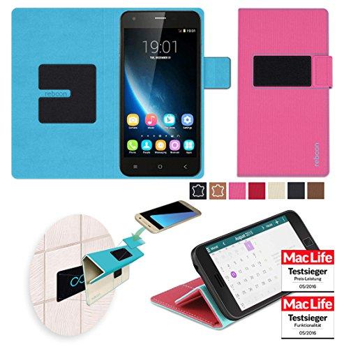 Hülle für Oukitel U7 Pro Tasche Cover Hülle Bumper | Pink | Testsieger