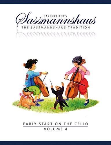Sassmannshaus, Kurt - Early Start on the Cello Book 4 Published by Baerenreiter Verlag