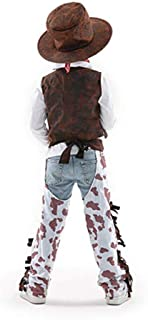 Cowboy Costume for Kids Handsome Clothes for Boys 3-7 Years