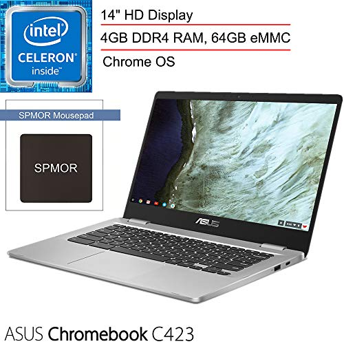 2020 ASUS Chromebook C423 14' Laptop Computer for Business Student, Intel Celeron N3350 up to...