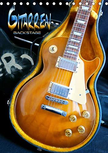Gitarren backstage (Tischkalender 2021 DIN A5 hoch)