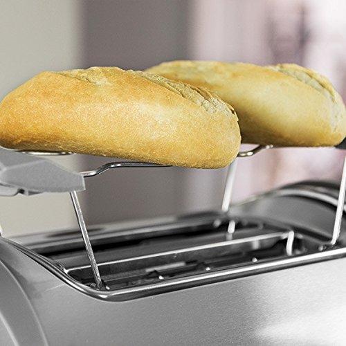 Eurowebb broodrooster 800 W met houder voor brood en broodjes