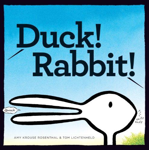 Duck! Rabbit! (English Edition)