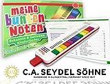 Seydel TRIOLA 12 Bundle - mit NEUEM UMFANGREICHEN KINDERLIEDERBUCH. Auch