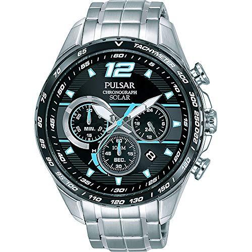 [セイコー パルサー] SEIKO PULSAR WRC世界ラリー選手権公式モデル 100m防水 ソーラー充電式 クロノグラフ 腕時計 PZ5031X1 メンズ [並行輸入品]
