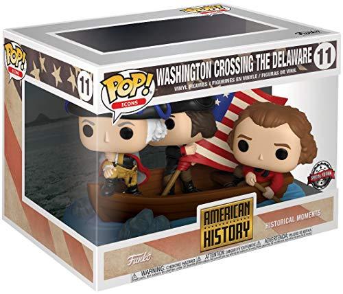 Funko American History - Washington Crossing The Delaware (Historical Moments) Vinyl Figure 11 Movie Moments