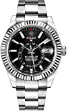 Rolex Sky-Dweller Black Dial Automatic Mens Oyster Watch 326934BKSO