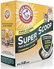 Super scoop clumping Litter (fresh scent) 6.35 kg
