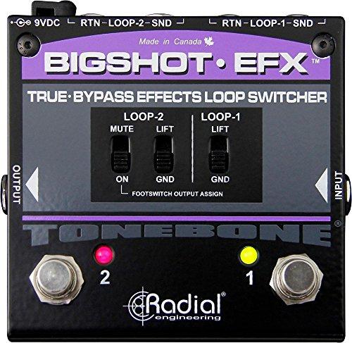 Tonebone BigShot EFX Compact Effect Loop Switcher, R800 7214
