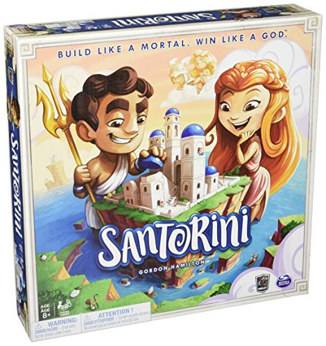 Spinmaster - Roxley Santorini Board Game - English