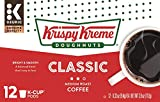 Krispy Kreme Classic, Keurig Single-Serve K-Cup Pods, Medium Roast Coffee, 12 Count