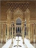 Poster 50 x 70 cm: Patio de los Liones, Alhambra, Granada