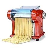 KDMB Macchina Manuale per la Pasta, Accessori per la ferramenta Accessori per la Stampa della Pasta elettrica per Uso Domestico Macchina per Spaghetti Multifunzione in Acciaio Inossidabile.
