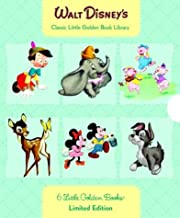 Walt Disney's 6 Little Golden Books: Bambi/Dumbo/Mother Goose/Pinocchio/Scamp/Three Little Pigs