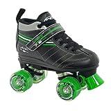 Roller Derby Boy's Laser Speed Quad Skate, Size 04