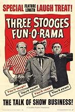 Three Stooges Fun-O-Rama POSTER Movie (27 x 40 Inches - 69cm x 102cm) (1959)