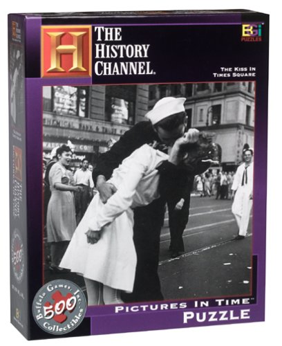The History Channel The Kiss en Times Square Photos en Temps Puzzle