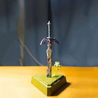 HHXXCC Die Legende vonゼルダアニメPuppe Atem der Wild Link Meister hold Schwert Hochwertigeバージョン像像Puppe Skulptur Spielzeug Dequo...