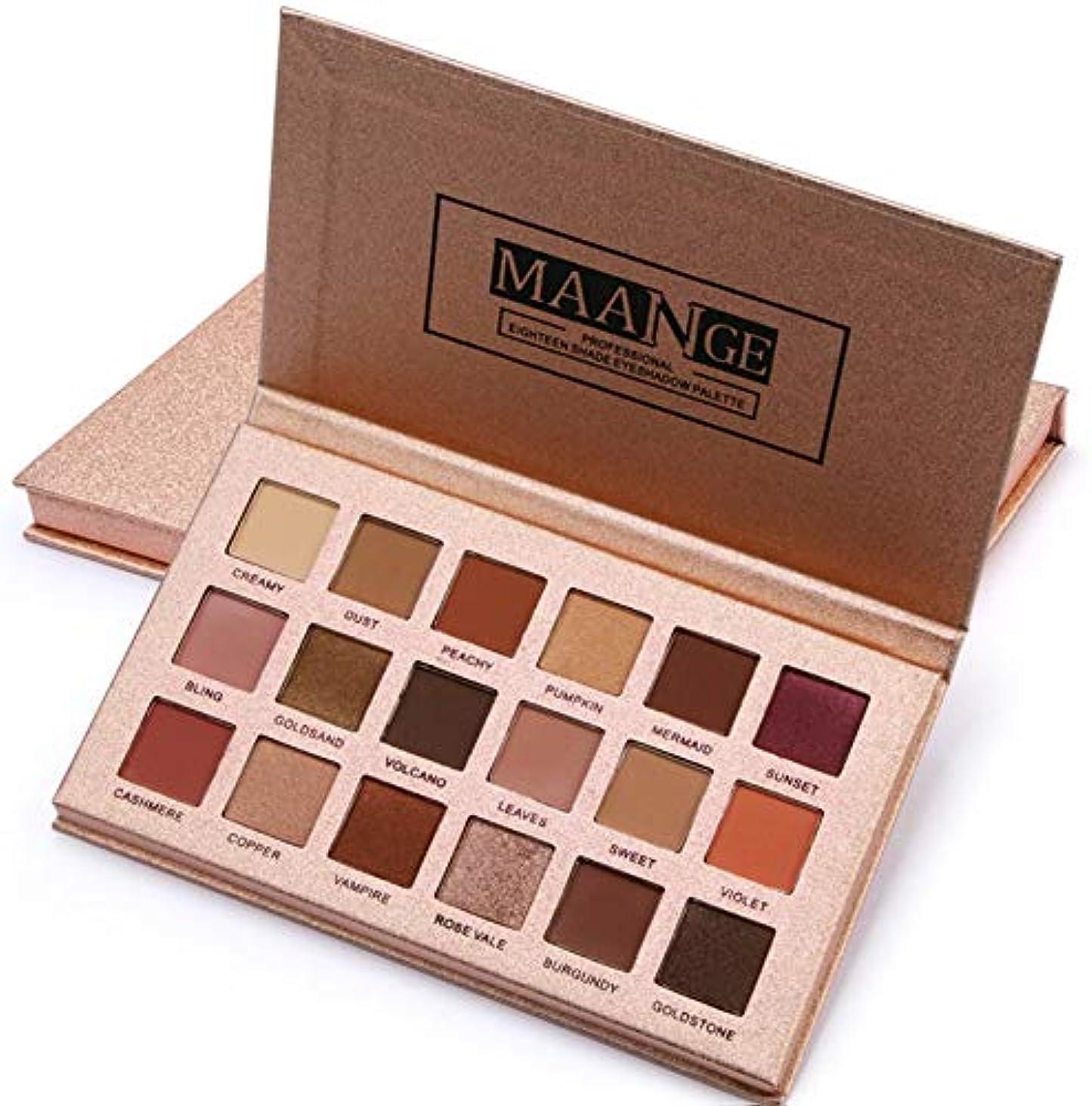 名目上の調子誠意Ni Yom Thai shop 18 Color Shimmer Glitter Eye Shadow Powder Matt Eyeshadow Cosmetic Makeup brochas maquillaje profesional pinceaux maquillage