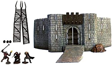 Lord Of The Rings Deluxe Environment Playset: Battle at Helm's Deep 1/24 Scale