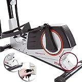 Ultrasport XT-Trainer 900M/1000A Crosstrainer/Ellipsentrainer mit Handpuls-Sensoren inkl. Trinkflasche - 5