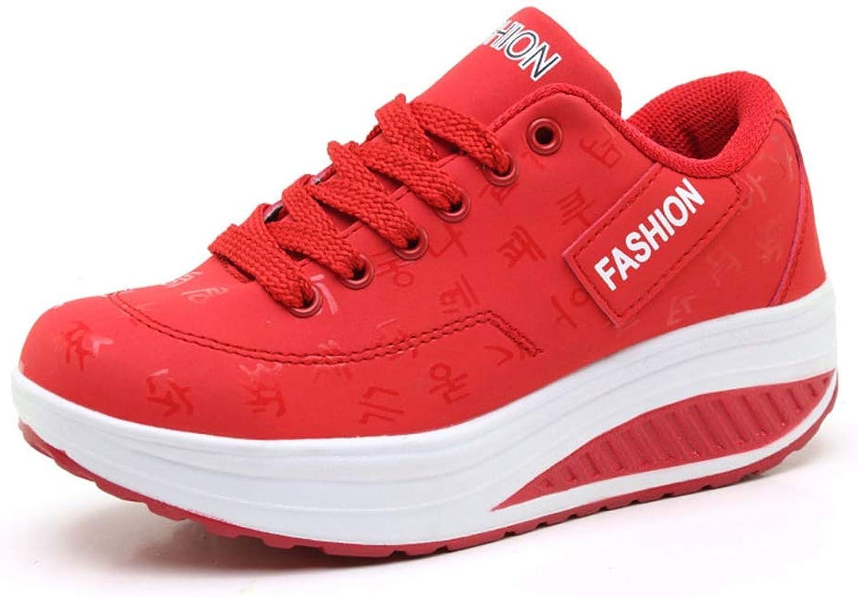 T-JULY Women Fashion Waterproof Wedges shoes Female Platform Casual Walking shoes