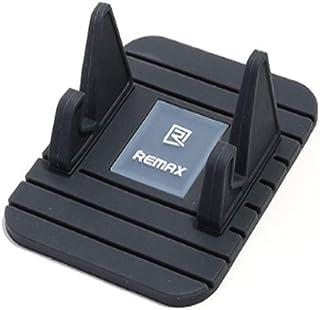 حامل هاتف محمول للسيارة من ريماكس فيري متوافق مع جميع الهواتف المحمولة أبل أيفون/أندرويد/تايب سي، جل السيليكا سهل التنظيف ...