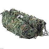 QIANMEI Velas de Sombra Toldos para Patio Camouflage Shade Net   Camo Net para LA DECURACIÓN DE LA SAMA DE LA Caza DE LA Caza DE Caza   Entrenamiento de cochera Ultravioleta al Aire Libre
