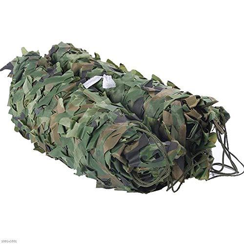 GFBHD Cobertor de Red de Camuflaje,Toldo De Sombra Camouflage Shade Net | Camo Net para LA DECURACIÓN DE LA SAMA DE LA Caza DE LA Caza DE Caza | Entrenamiento de cochera Ultravioleta al Aire Libre