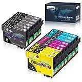 OfficeWorld Ersatz für Epson T0711 T0712 T0713 T0714 T0715 Patronen