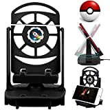 Setber Steps Counter Accessories Compatible for Pokemon Go Cellphone Pedometer, (USB Cable) (Support 2 Phones)(Easy Installation) (Mute Version) Quick Steps Earning Device -Black