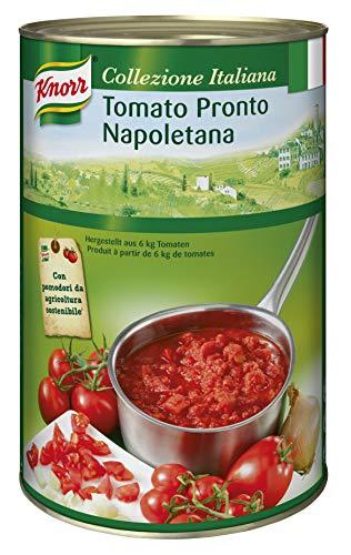 Knorr Collezione Italiana Tomato Pronto Napoletana (stückige Tomatensauce) 1er Pack (1 x 4,15 kg)