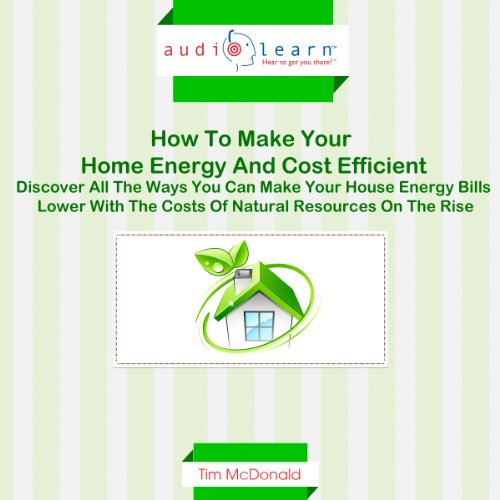 How to Make Your Home Energy and Cost Efficient audiobook cover art