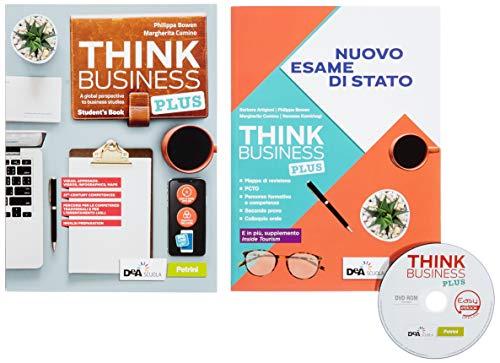 Think business plus. Student's book + fascicolo nuovo esame di stato e extra. Easy ebook. Per le Scuole superiori. Con e-book. Con espansione online